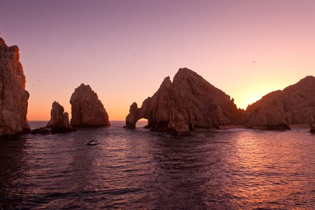 Cabo's Beloved Rocky Arch