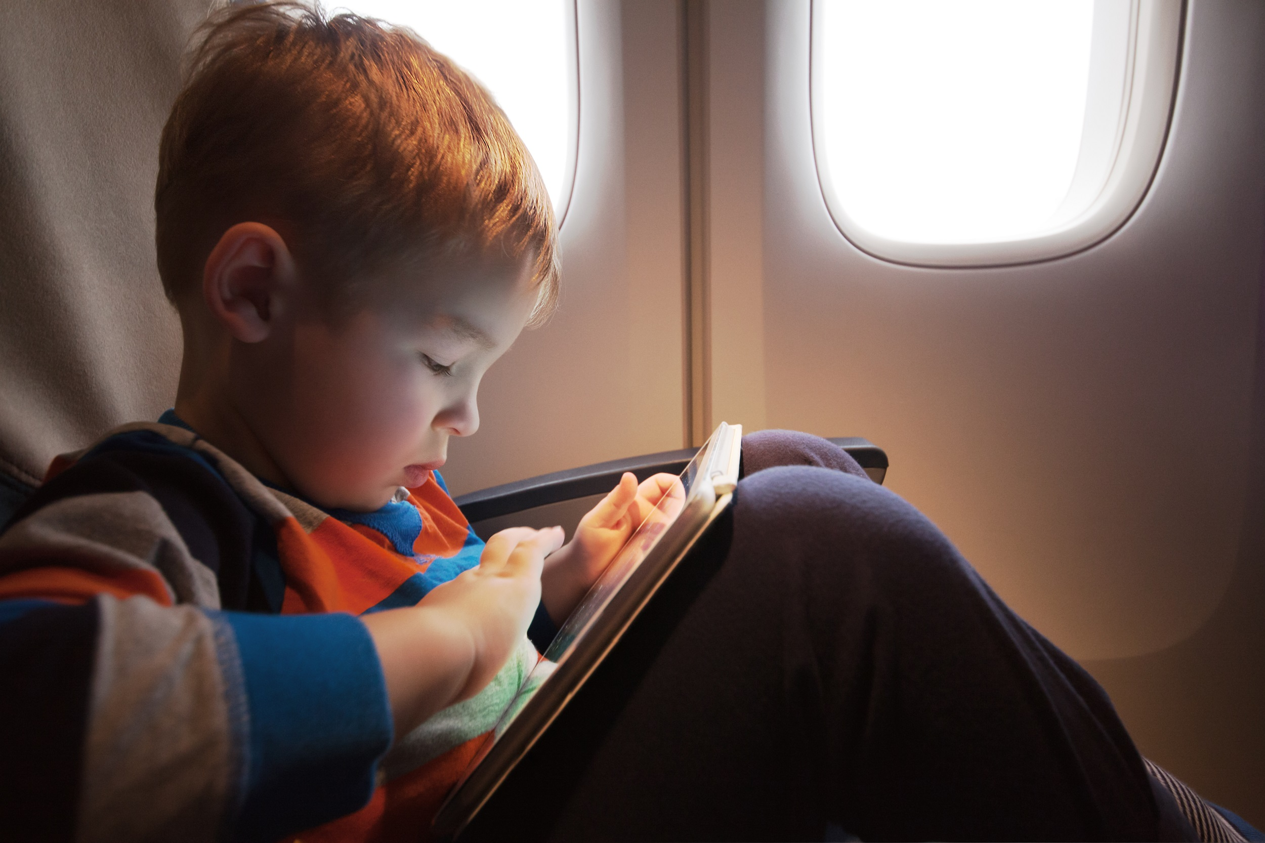 Young Kids on Flights