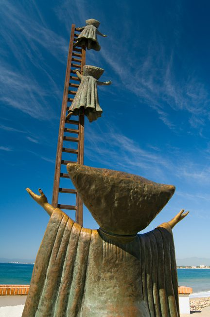 Puerto Vallarta Malecon Statues