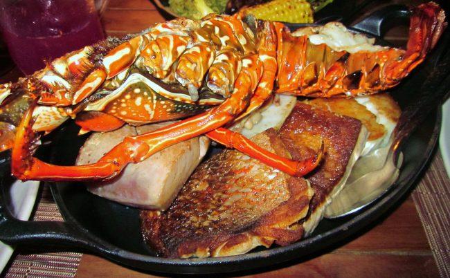 El farallon lobster flash