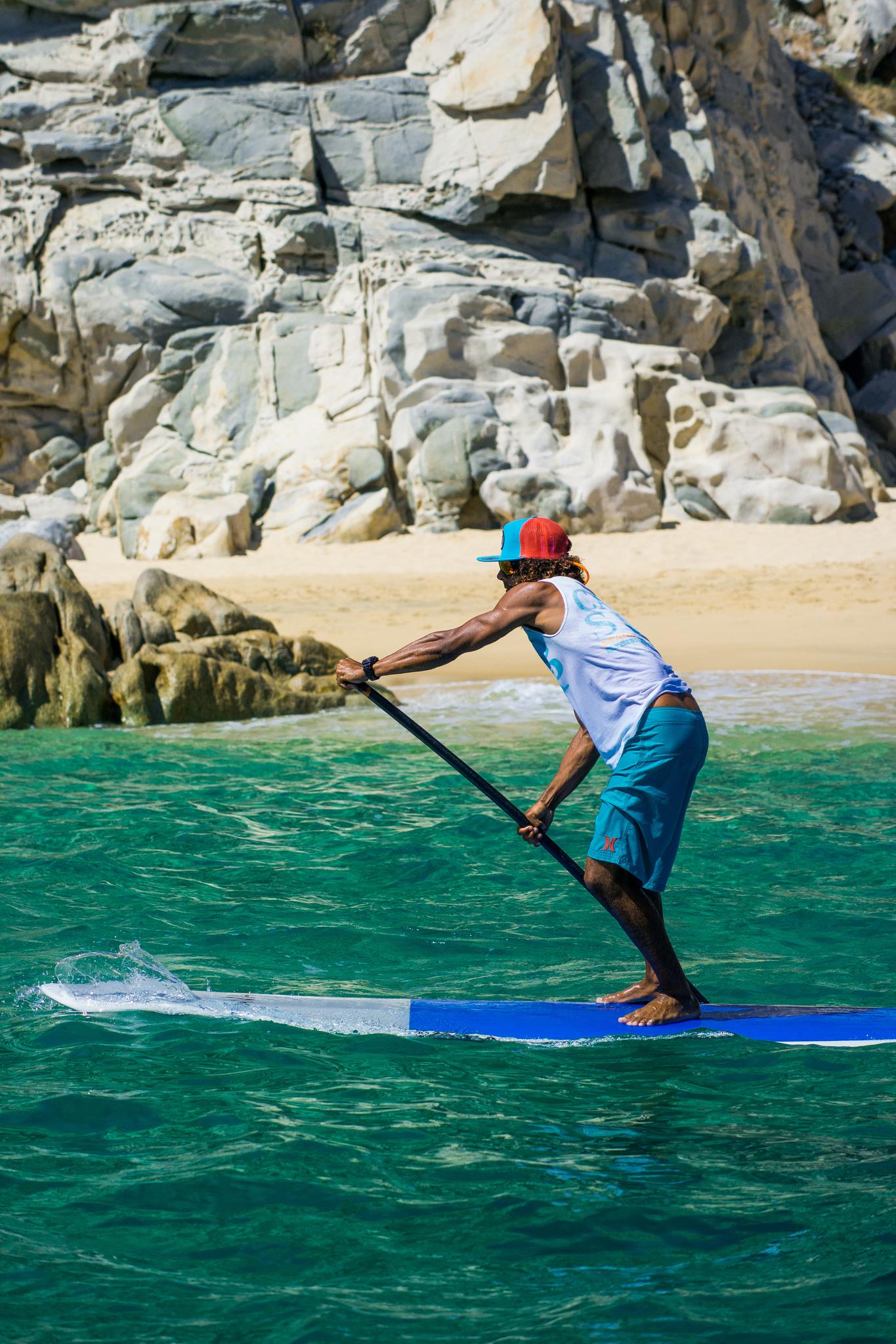 Riding Waves in Los Cabos