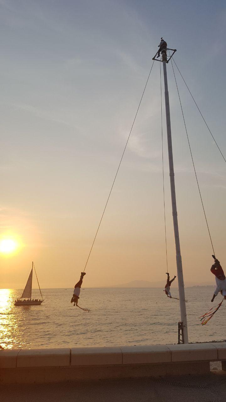 Voladores of Puerto Vallarta