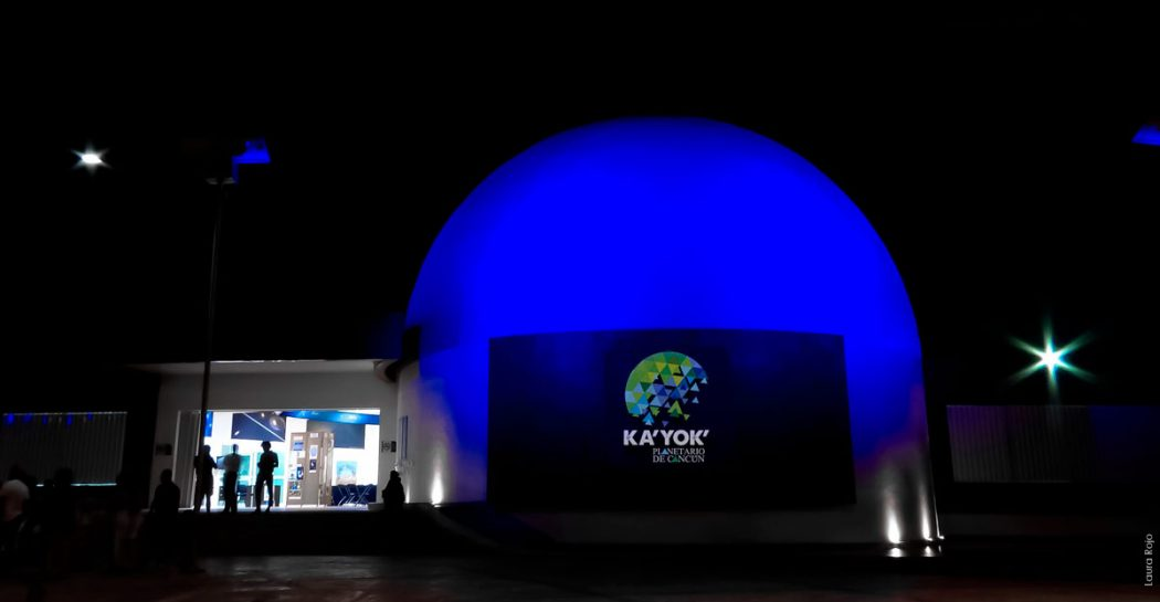 Cancun's Ka'Yok' Planetarium