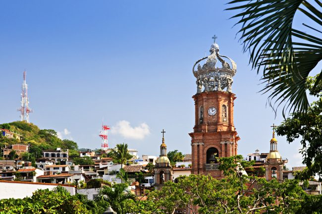 Our Lady of Guadalupe church in Puerto Vallarta