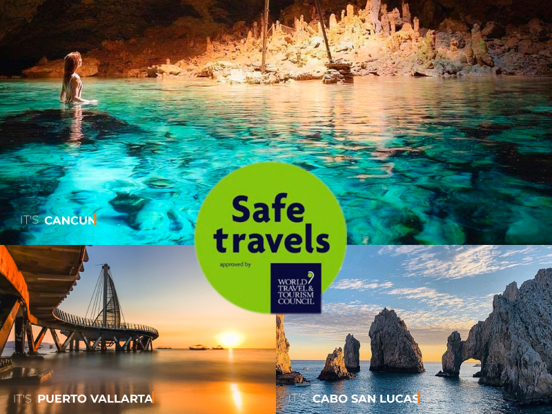 Safe Travel Stamp – Mexico Vacation Packages